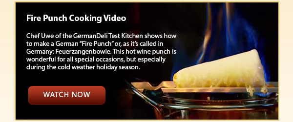 Fire Punch Cooking Video
